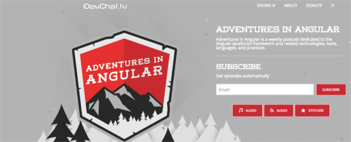 Adventures In Angular Podcast